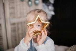 Kinderfotos Weihnachten
