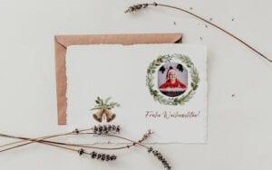Design 3 Weihnachtskarte Muster